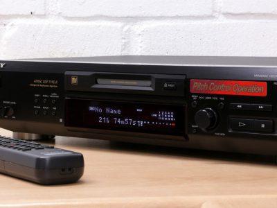 索尼 SONY MDS-JE530 Minidisc MD播放机