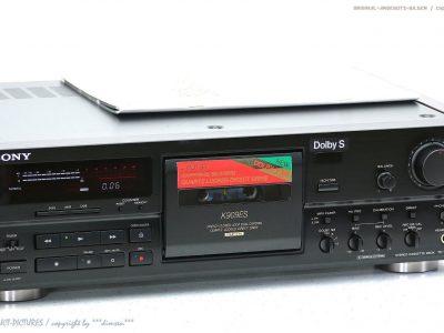 索尼 SONY TC-K909ES High-End 磁带卡座 ES Top-Zustand + BA! Gewartet+1J.Ga<wbr/>rantie!