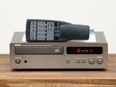 雅马哈 YAMAHA CDX-9 CD-Player in Titan Silber / mit FB und BDA!