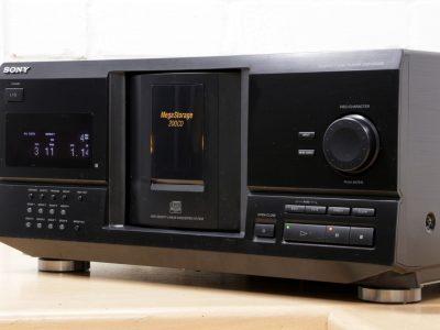 索尼 SONY CDP-CX235 MEGA 200碟连放 CD播放机