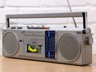 JVC RC-S40LB Boombox 收录机