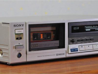 SONY TC-K555 卡座