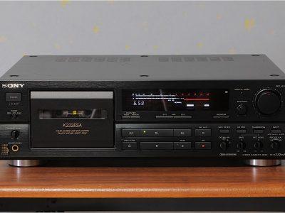 SONY TC-K222ESA 卡座