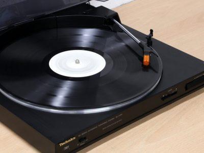 松下 Technics SL-J110R 黑胶唱机