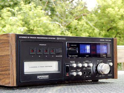 马兰士 Marantz TDR-830 8 Track 8轨磁带卡座