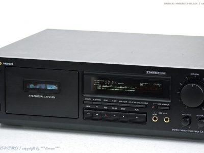 ONKYO Integra TA-6711 HighEnd 磁带 Tape 卡座 Top-Zust! Revidiert+1J.G<wbr/>arantie