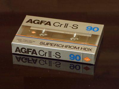 AGFA CrII-S 90 盒式录音带