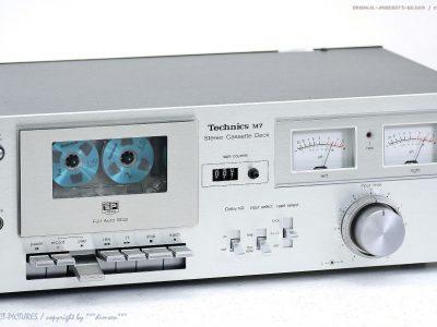 松下 Technics RS-M7 古董 磁带 Tape 卡座 *NICE*! Revidiert + 1J.Garantie!