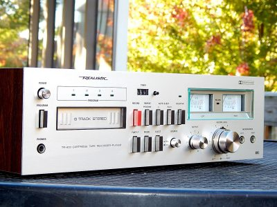 Realistic TR-803 8 Track Tape 8轨磁带卡座