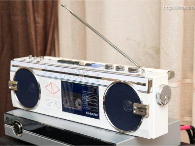SHARP QT70 单卡收录机