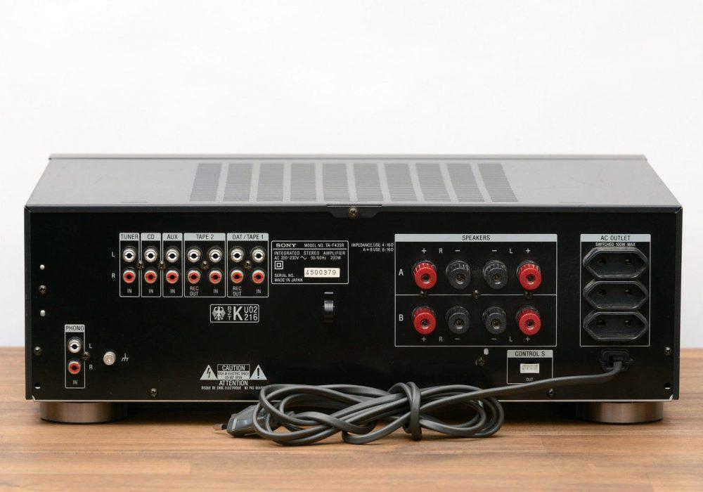 索尼 SONY TA-F435R 立体声 Vollverstärker / Verstärker / Amplifier in schwarz