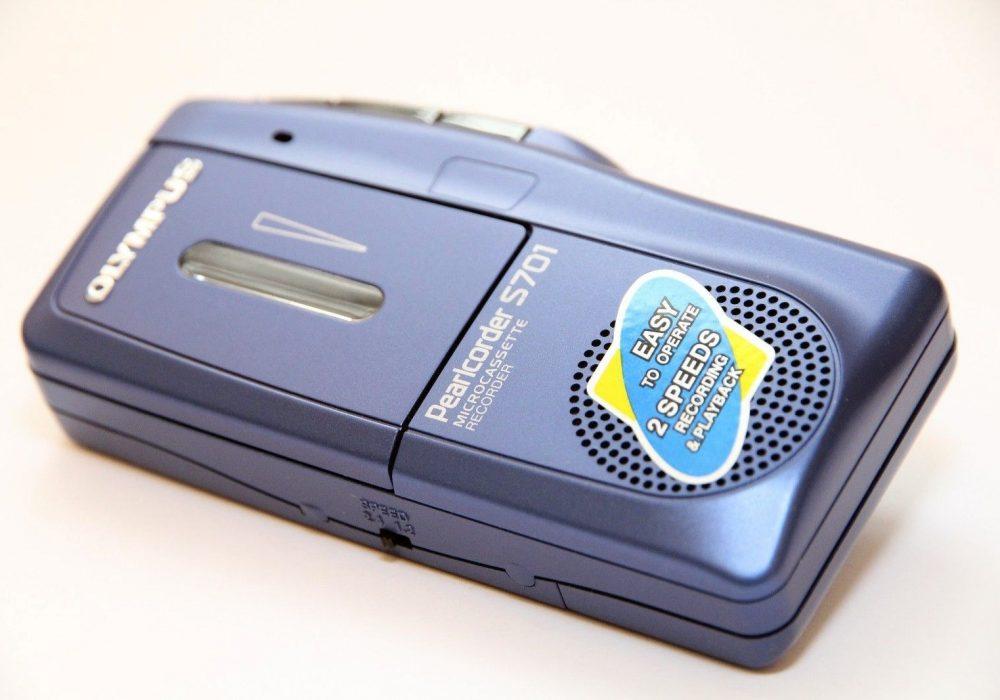 OLYMPUS Pearlcorder S701 Micro Dictaphone 磁带录音机