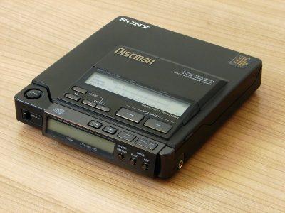 索尼 SONY Discman D-Z555 (D-555) portátil reproductor de CD