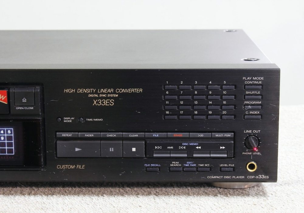 索尼 SONY CDP-X33ES CD播放机