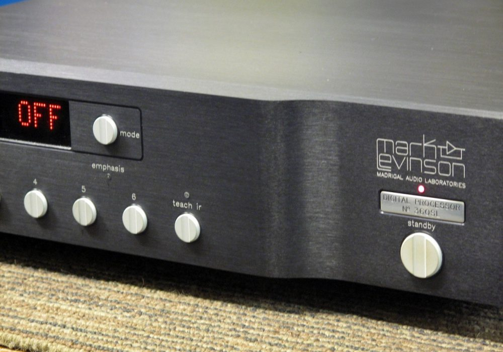 Mark Levinson No.360SL D/A 解码器