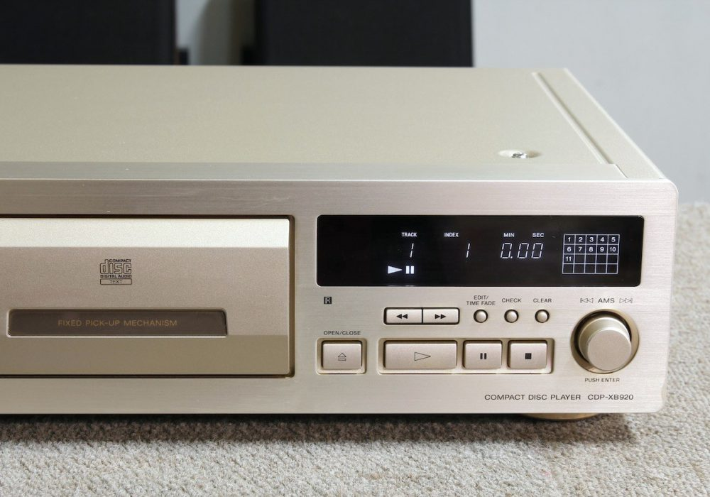 SONY CDP-XB920 CD播放机