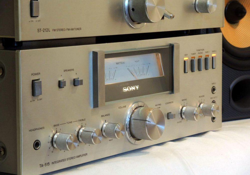 索尼 SONY TC-378 开盘机 + 收音头 + 功率放大器