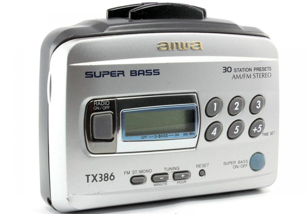 AIWA HS-TX386 AM/FM 磁带随身听