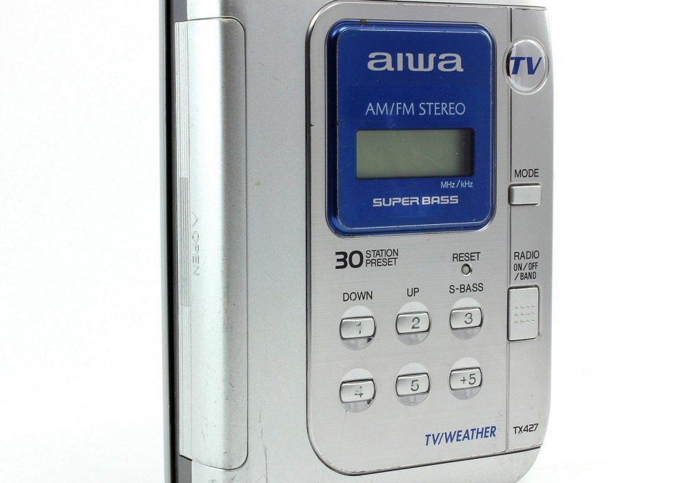 AIWA HS-TX427 TX427 AM/FM 磁带随身听