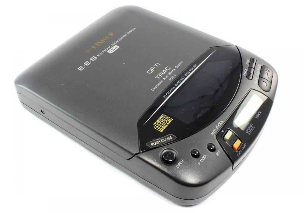 FISHER PCD-5 CD Player CD随身听