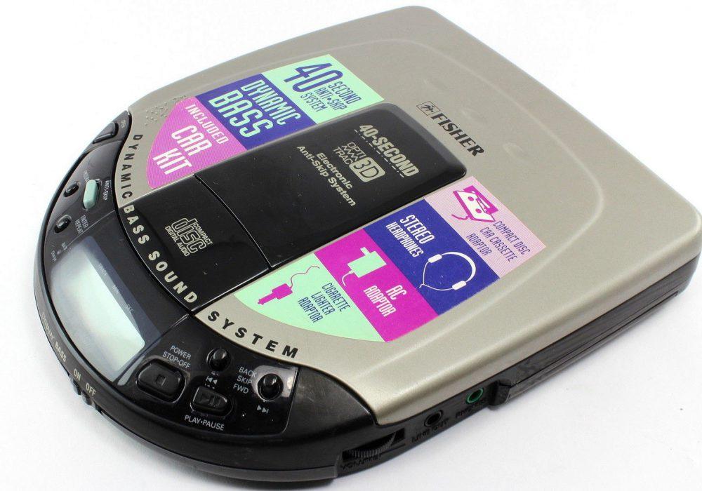 FISHER PCD-7650 CD Player CD随身听