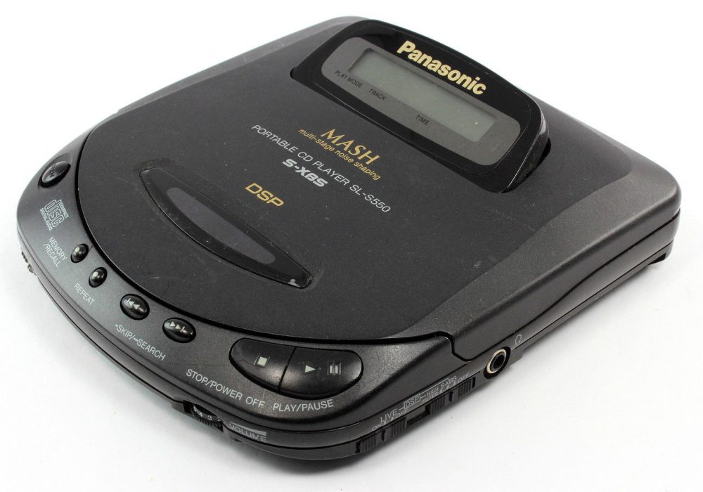 PANASONIC SL-S550 CD Player CD随身听