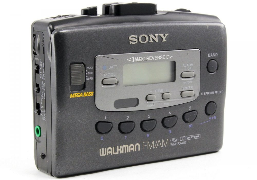 索尼 SONY WM-FX407 FM/AM 磁带随身听