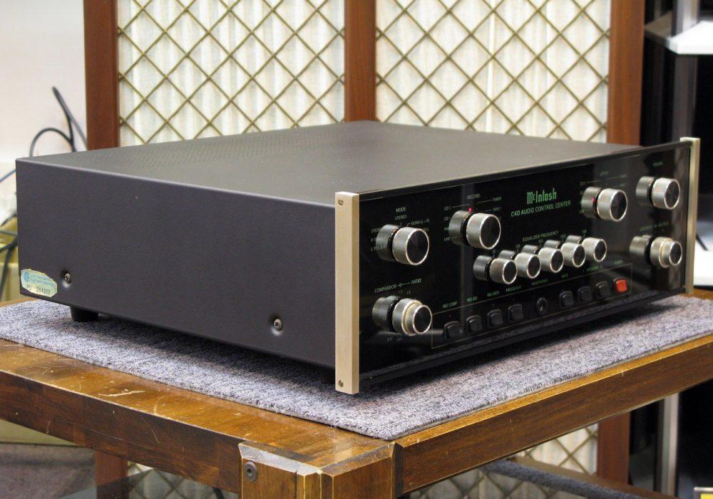 McIntosh C40 功率放大器