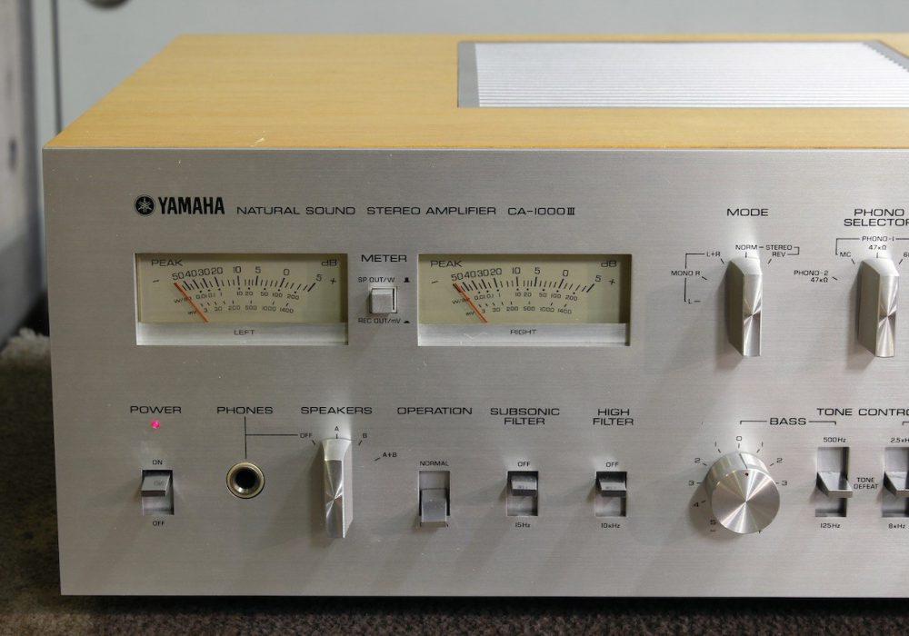 YAMAHA CA-1000III 功率放大器