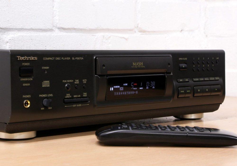 松下 Technics SL-PS670A CD播放机