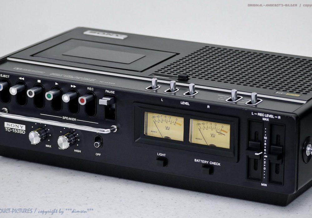 索尼 SONY TC-153SD 便携磁带录音机