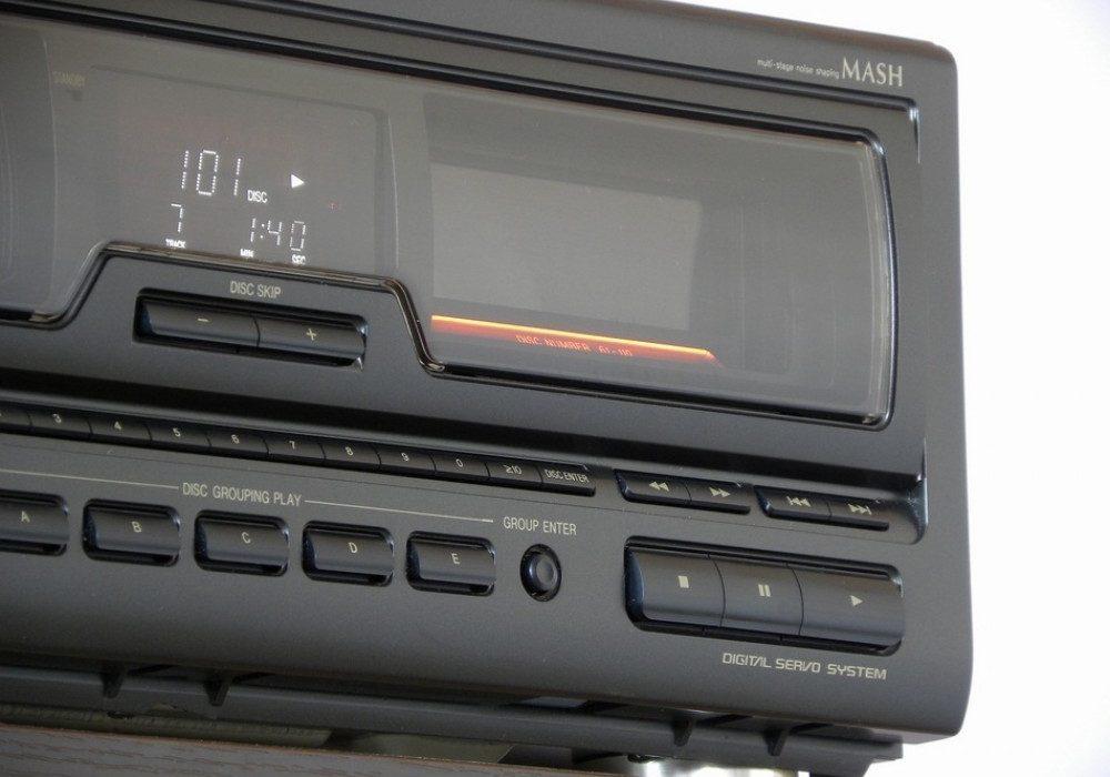 Technics SL-MC400 110碟连放 CD播放机