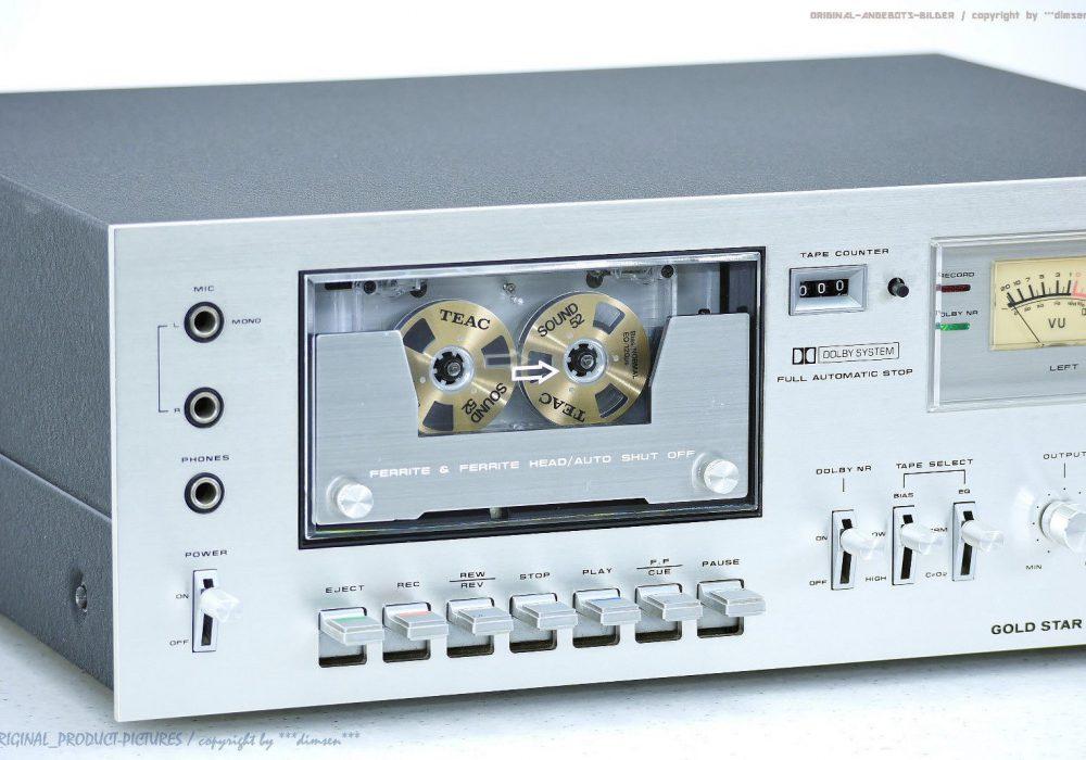 GOLDSTAR TCD-1500 卡座