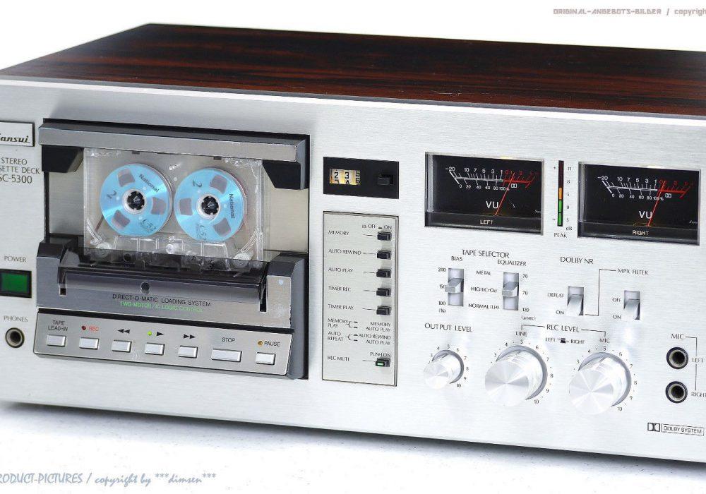 SANSUI SC-5300 古董 Direct-O-Matic 磁带 Tape 卡座! Revidiert+1J.G<wbr/>arantie!