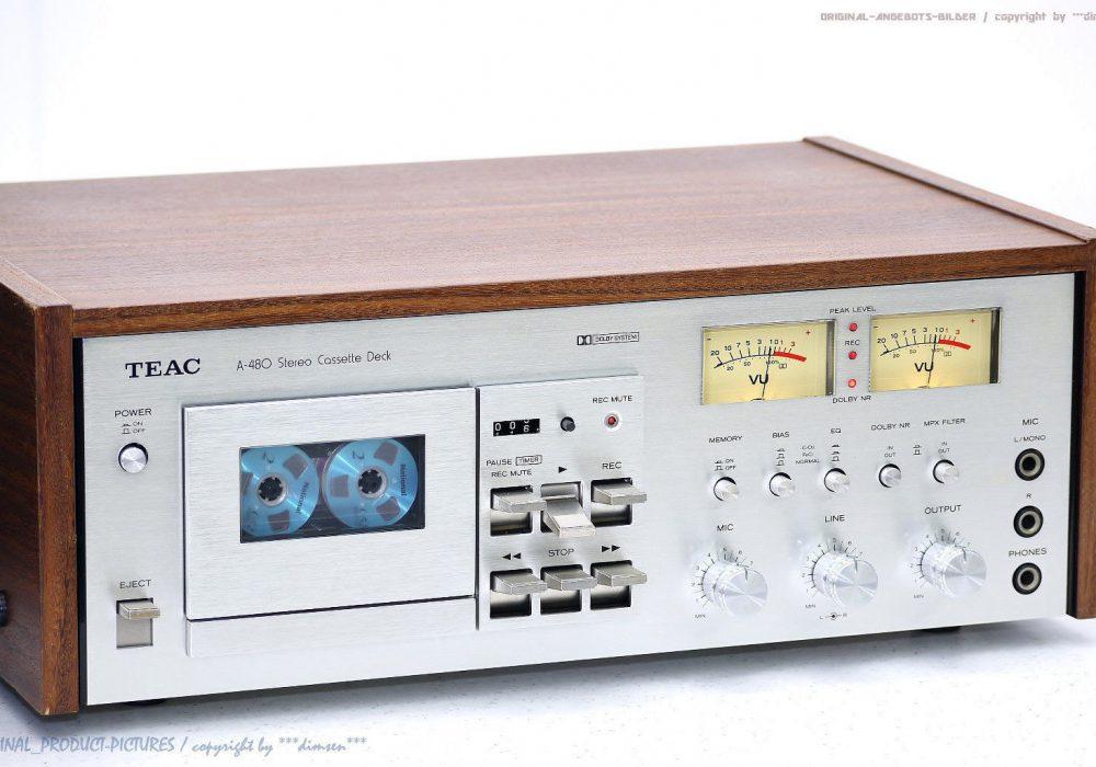 TEAC A-480 卡座