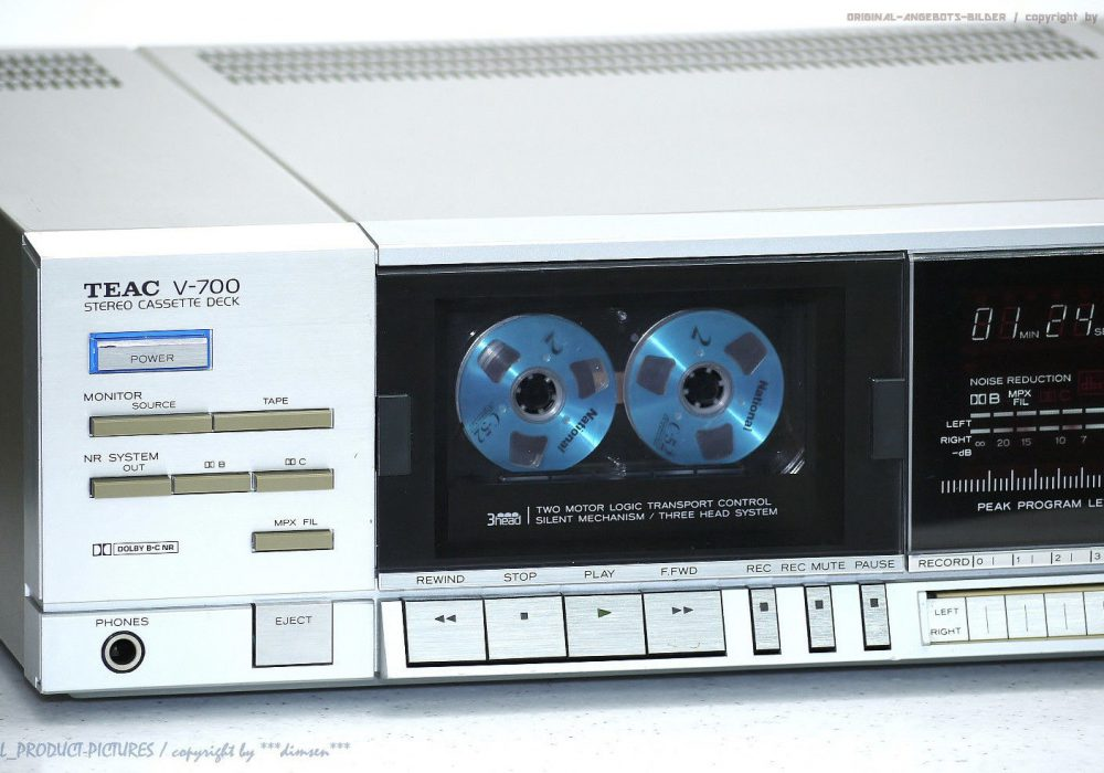 TEAC V-700 High-End 卡座