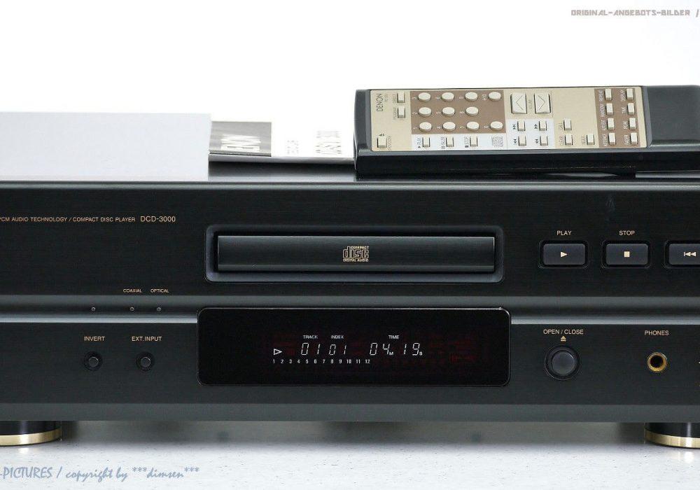 DENON DCD-3000 High-End CD-Player CD播放机