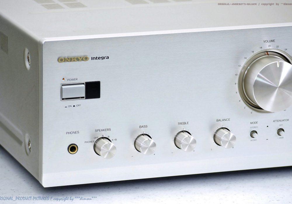 ONKYO A-9711 Integra High-End 立体声 Verstärker/Amp<wbr/>lifier!Gewarte<wbr/>t+1J.Garantie!