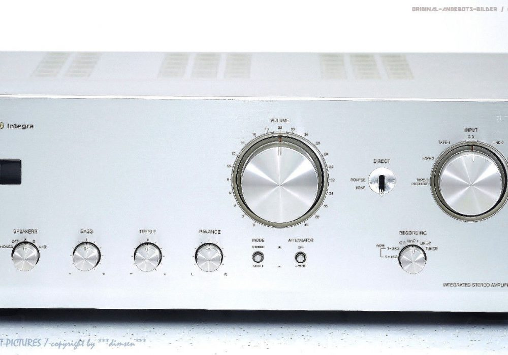 ONKYO A-9711 Integra High-End 立体声 Verstärker/Amp<wbr/>lifier!Gewarte<wbr/>t+1J.Garantie!