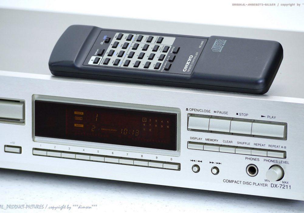 ONKYO DX-7211 Hochwertiger CD-Player FB in Top-Zustand! Gewartet+1J.Ga<wbr/>rantie!!