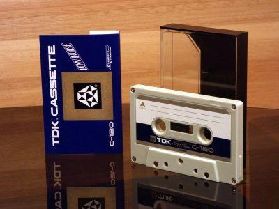TDK 1970 C-120 LOW NOISE 盒式录音磁带