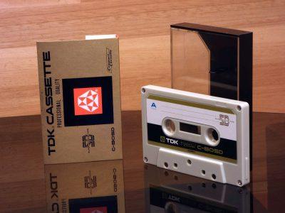 TDK 1970 SD C-90 盒式录音磁带