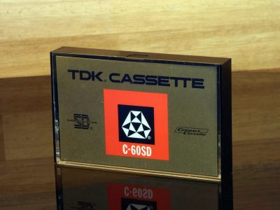 TDK 1972 C-60SD 盒式录音磁带