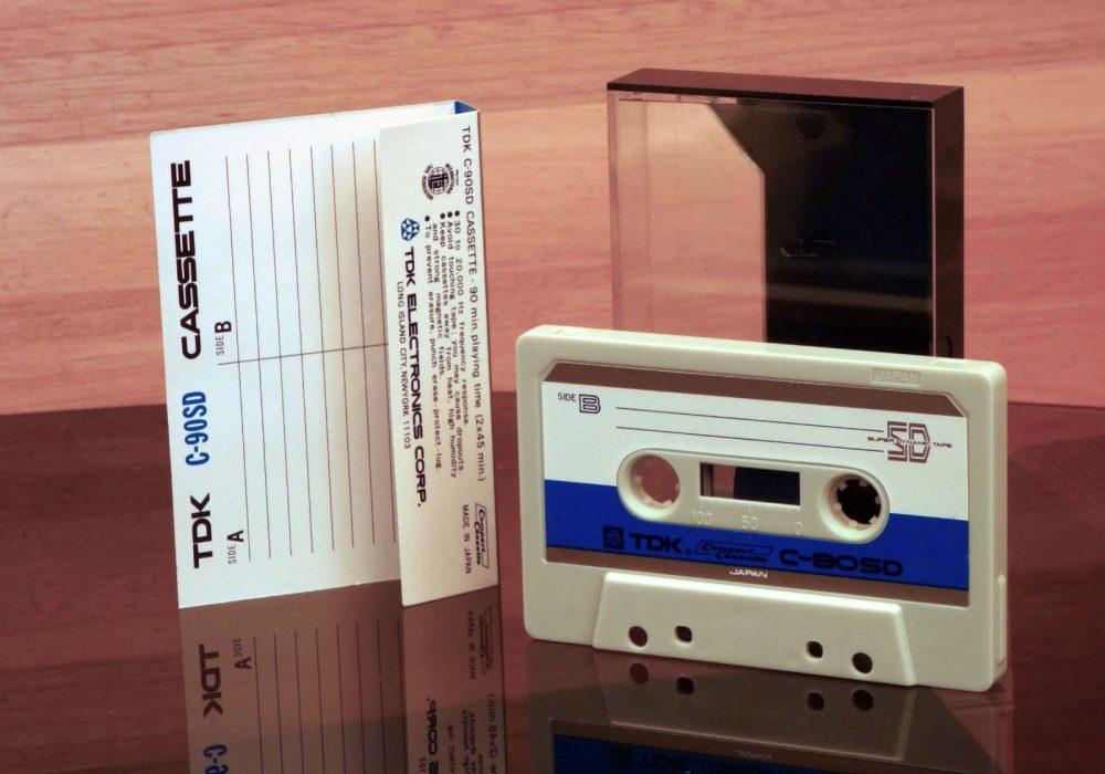 TDK C-90SD 盒式录音磁带 (1972)