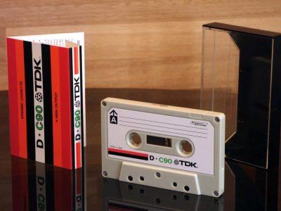 TDK D C-90 盒式录音磁带 (1973)