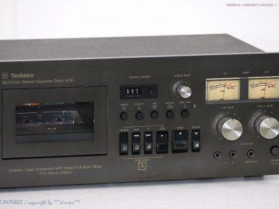 松下 Technics RS-678 US 卡座