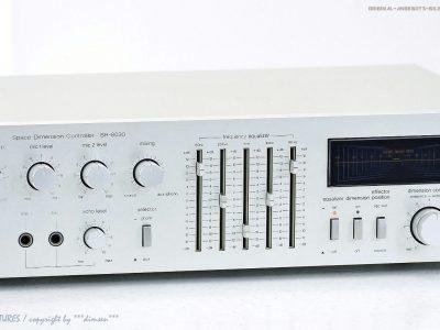 松下 Technics SH-8030 古董 Space Dimension Controller/Hal<wbr/>l Equalizer Top+1J.Gar!