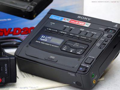 索尼 SONY GV-D200E Digital 8 Video 便携式数码录像机