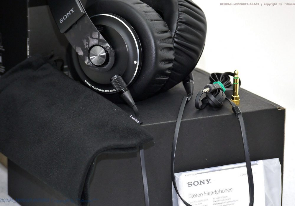 索尼 SONY MDR-XB1000 High-End 头戴式耳机