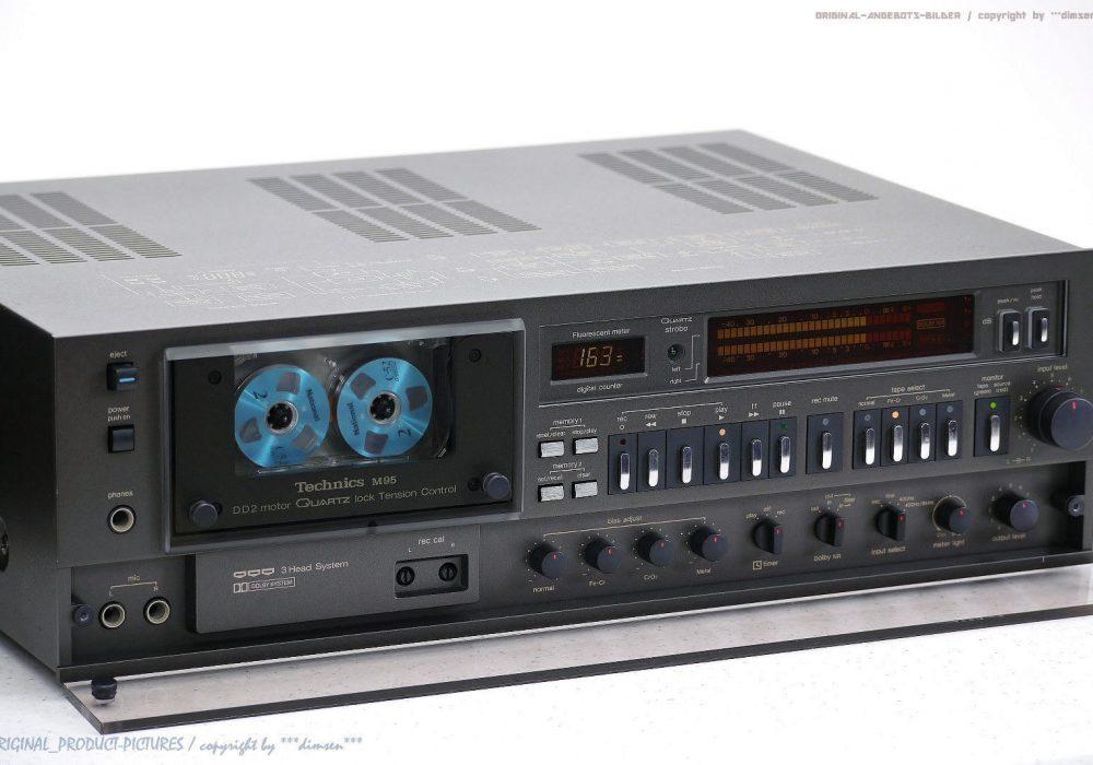 松下 Technics RS-M95 古董 High-End 磁带卡座!! Revidiert +1J.Garantie!! *NICE*